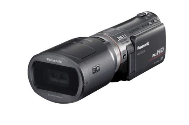 Panasonic HDC-SDT750 - pierwsza konsumencka kamera 3D /materiały prasowe