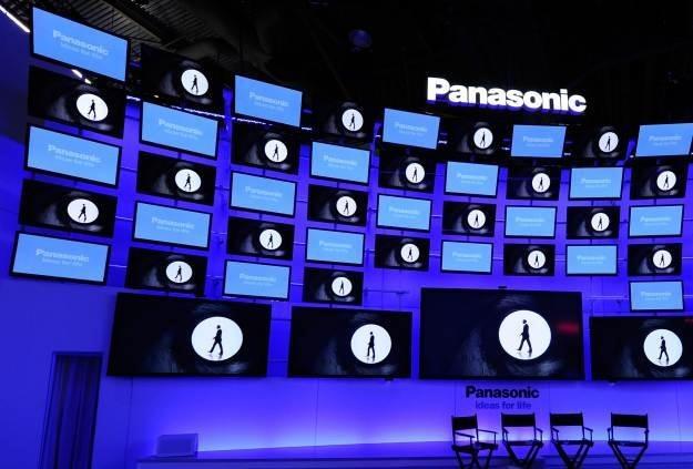 Panasonic jest znany z produkcji telewizorów plazmowych - nie zabrakło ich na CES 2012 /AFP