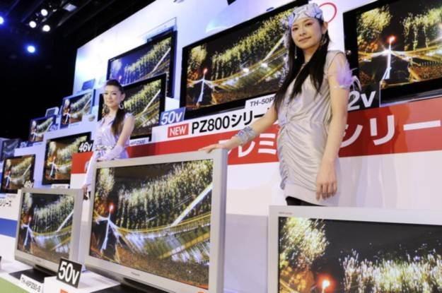 Panasonic - nadal króluje na rynku telewizorów plazmowych /AFP