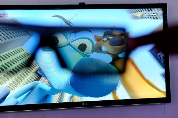 Panasonic to jeden z głównych ambasadorów technologii 3D /AFP