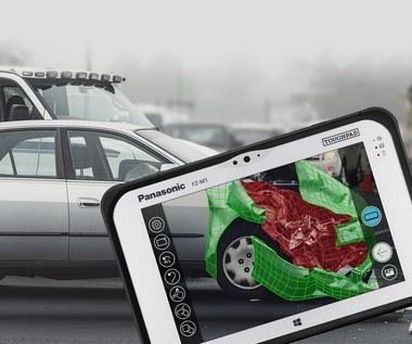 Panasonic Toughpad FZ-M1 z wbudowaną kamerą Intel RealSense 3D