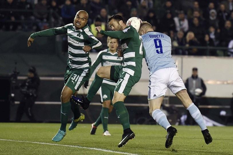 Panathinaikos szybko nie zagra w pucharach /AFP