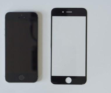 Pancerny 4,7-calowy panel iPhone'a 6 na wideo