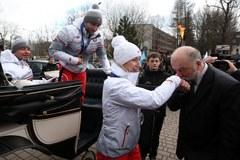 Panczeniści powitani pod Tatrami