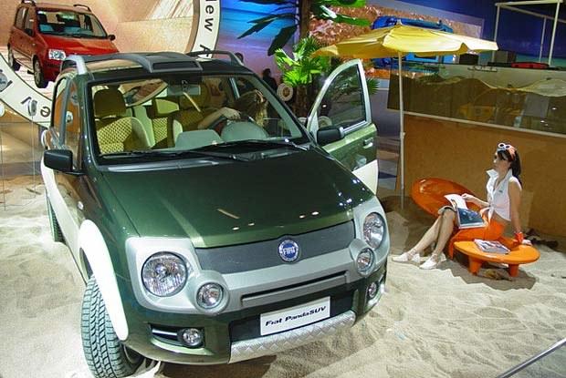 Panda SUV (kliknij) /INTERIA.PL