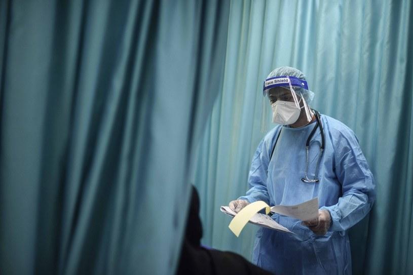 Pandemia koronawirusa na świecie /Abed Zagout/Anadolu Agency /Getty Images