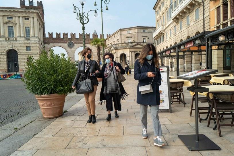 Pandemia koronawirusa we Włoszech /Ania Freindorf /East News