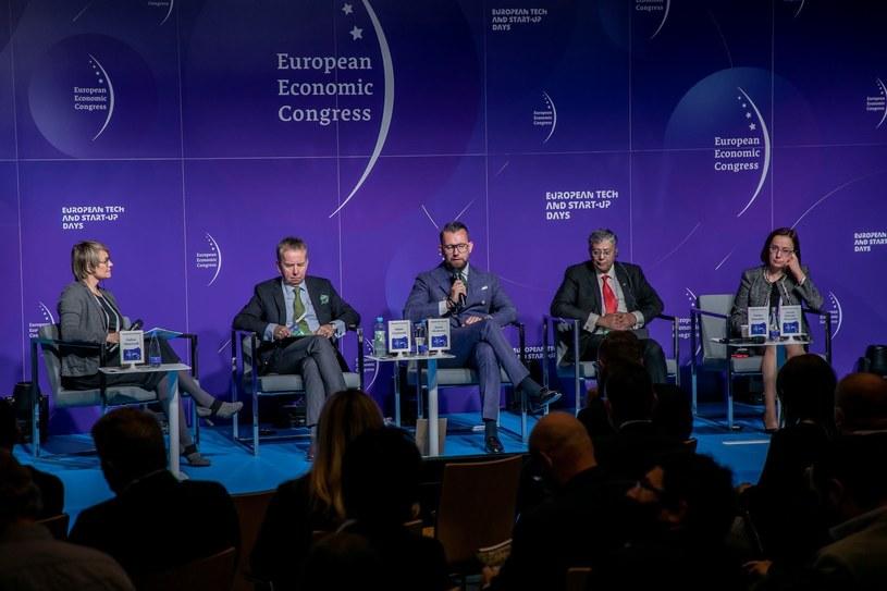 Panel Europejski Zielony Ład. XIII Europejski Kongres Gospodarczy /Fot. Ireneusz Rek /INTERIA.PL