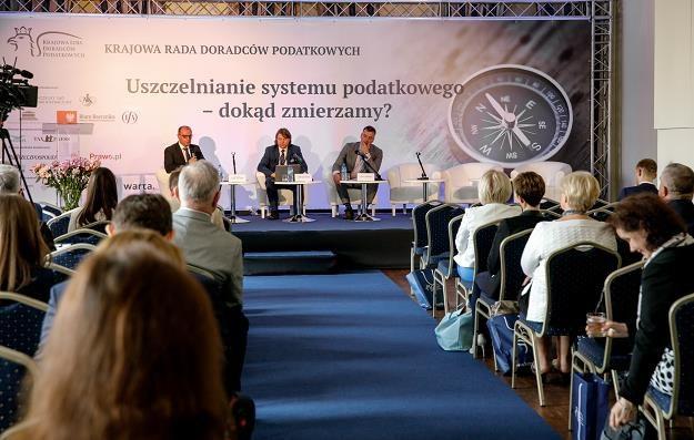 Panel IV. Moderator - prof. Adam Mariański /Informacja prasowa