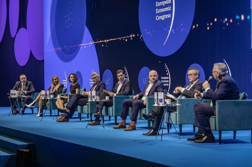 Panel o rynku pracy podczas XIII Europejskiego Kongresu Gospodarczego /Fot. Ireneusz Rek /INTERIA.PL