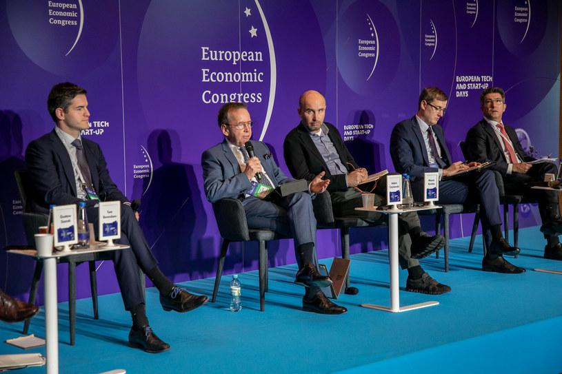 Panel poświęcony Europejskiemu Zielonemu Ładowi. XIII Europejski Kongres Gospodarczy /Fot. Ireneusz Rek /INTERIA.PL