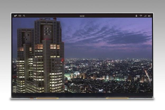 Panel zaprezentowany przez Japan Display.    Fot. Japan Display /materiały prasowe