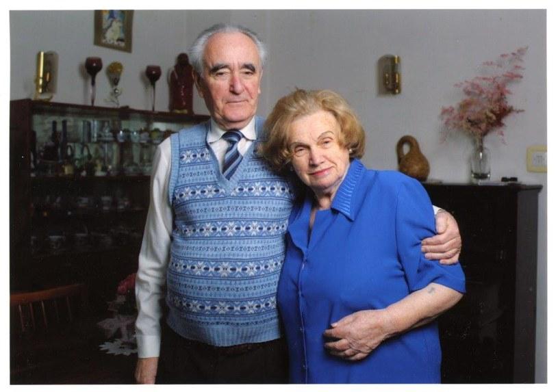 Pani Alina Dąbrowska z mężem /archiwum prywatne