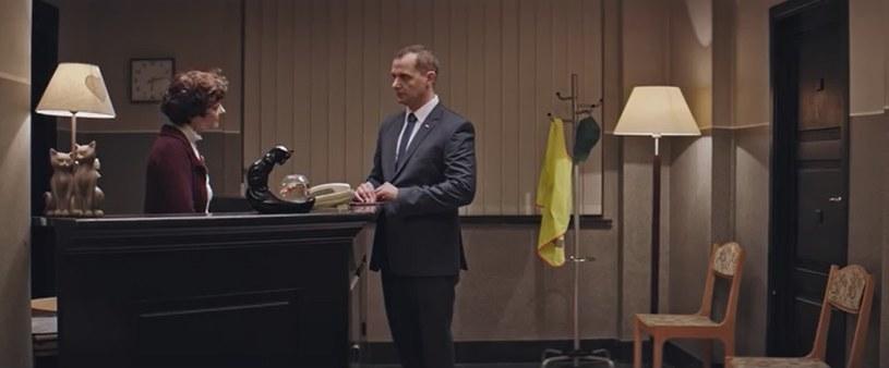 "Pani Basia i pan prezydent w serialu ""Ucho Prezesa"" /YouTube"