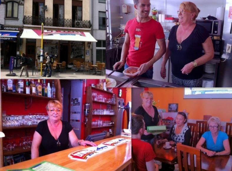 Pani Basia w swojej restauracji w Brukseli /Katarzyna Szymańska-Borgignon /RMF FM