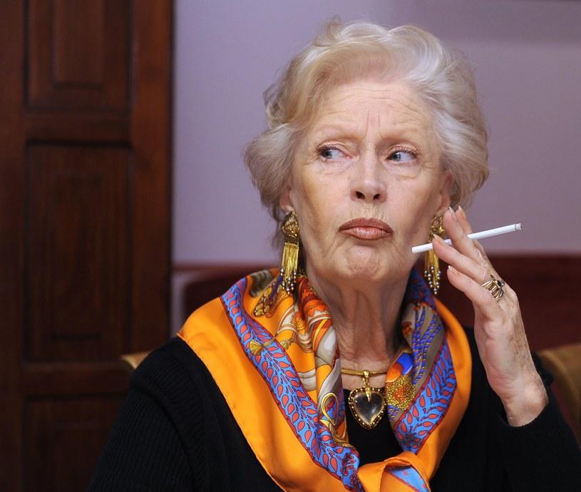 Pani Beaty nie zobaczymy już więcej z papierosem! /Bartosz Krupa /East News