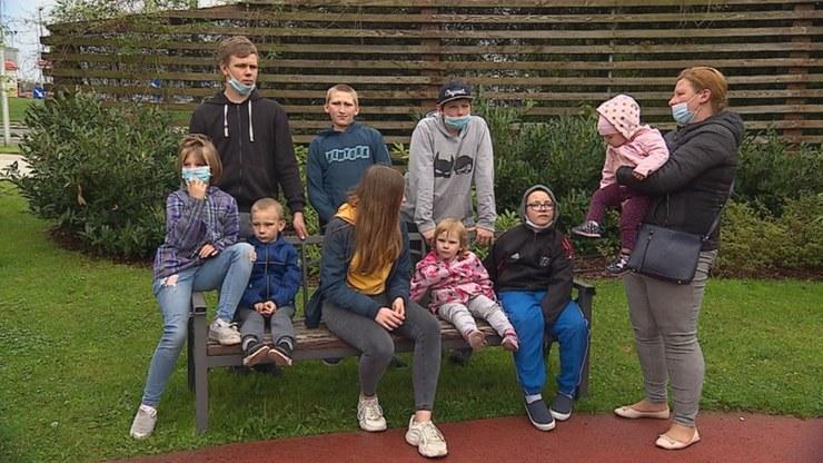 Pani Ewie sąd odebrał dziewięcioro dzieci /Polsat News