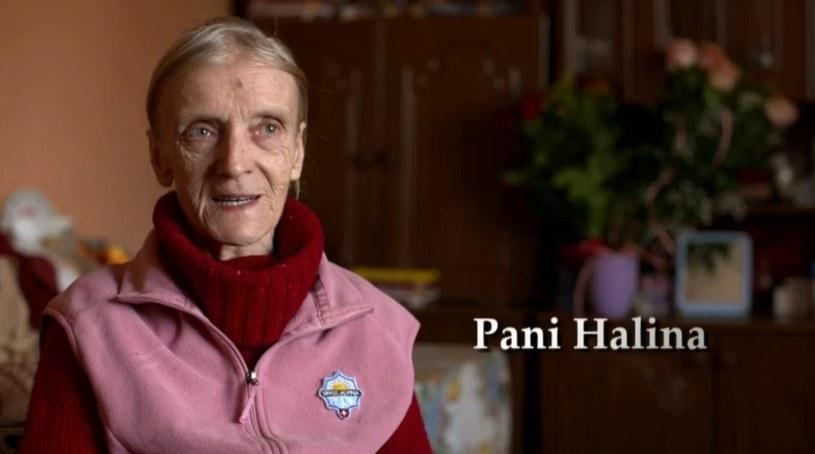 Pani Halina, mama Bandziorka /Polsat