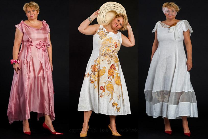 Pani Izabela Chodkiewicz postanowiła tworzyć oryginalne suknie z polskiego lnu /Styl.pl