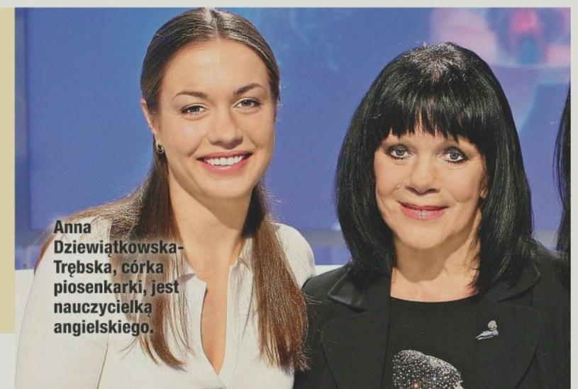 Pani Izabela z córką Anną /- /Dobry Tydzień
