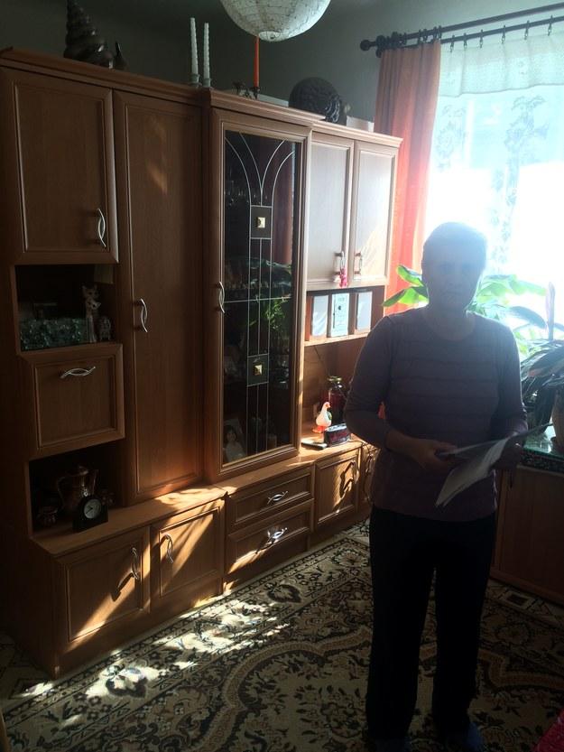 Pani Kazimiera w swoim obecnym mieszkaniu /Krzysztof Kot /RMF FM