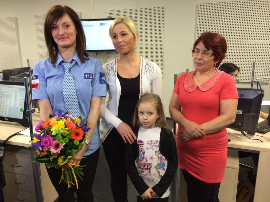 Pani Natalia pomogła uratować małą Lenkę /Kuba Kaługa /RMF FM