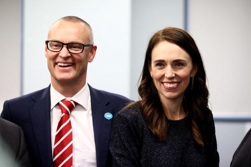 Pani premier z byłym już ministrem zdrowia, Davidem Clarkiem /Getty Images