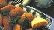 Panierowana rolada z żółtego sera
