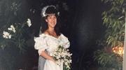 Panna młoda w sukni swojej zmarłej mamy