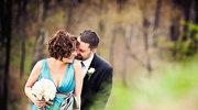 Panna młoda w turkusie - stylizacja ślubna