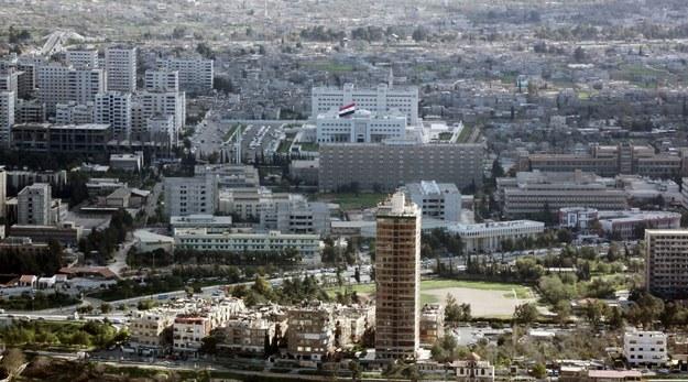 Panorama Damaszku w 2010 roku /YOUSSEF BADAWI /PAP/EPA