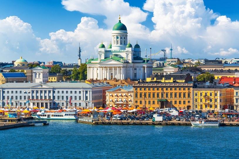 Panorama Helsinek, stolicy Finlandii /123RF/PICSEL