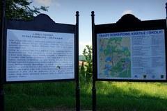 Panorama Kartuz z punktu widokowego nad jez. Karczemnym