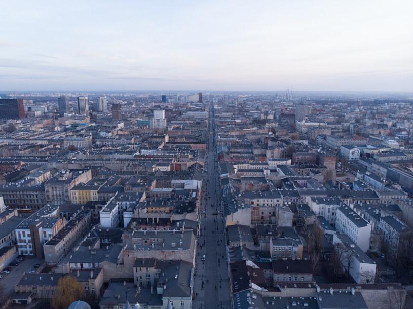 Panorama Łodzi, zdj. ilustracyjne /Marcin Jurkiewicz /East News