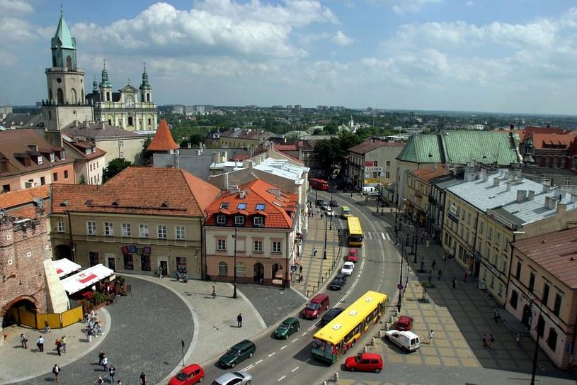 Panorama Lublina /Wojciech Jargilo /Reporter
