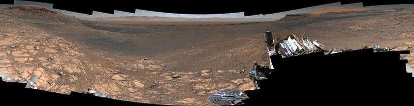 Panorama Marsa zarejestrowana przez łazika Curiosity /NASA