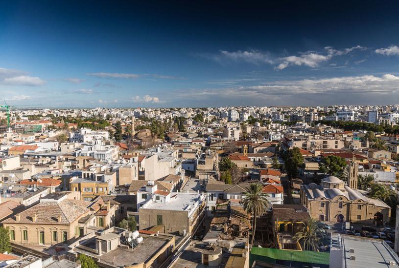 Panorama Nikozji - stolicy Cypru /123/RF PICSEL