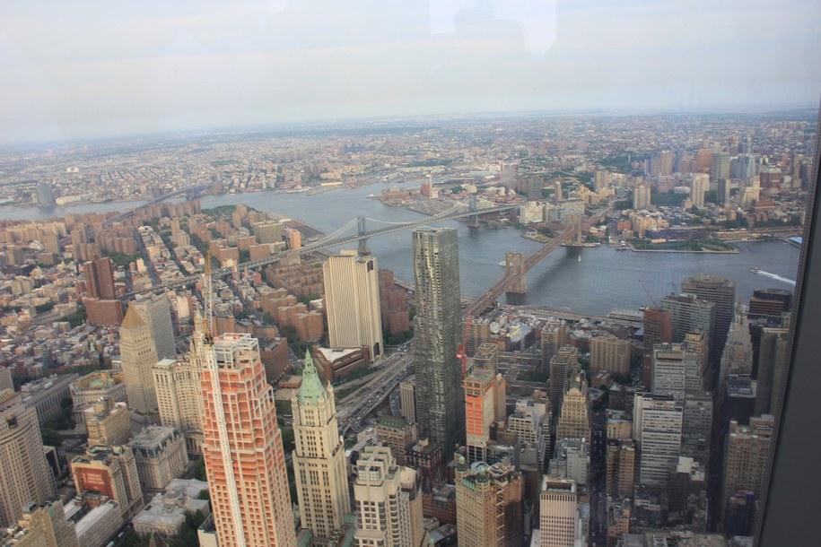 Panorama Nowego Jorku /Paweł Żuchowski /RMF FM