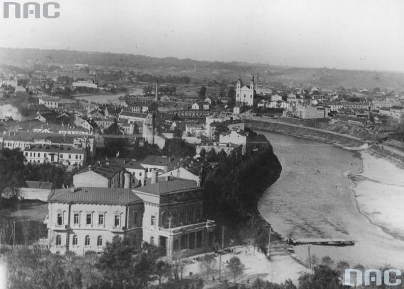 Panorama przedwojennego Wilna /Z archiwum Narodowego Archiwum Cyfrowego