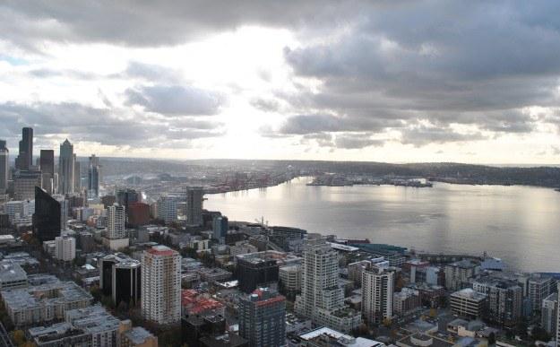 Panorama Seattle widziana ze Space Needle. W wielu z tych biurowców rodzą się nowe start-upy /INTERIA.PL