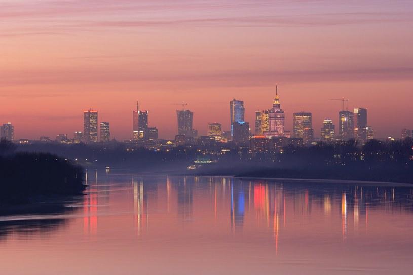 Panorama Warszawy /Kuba Jurkowski /Reporter