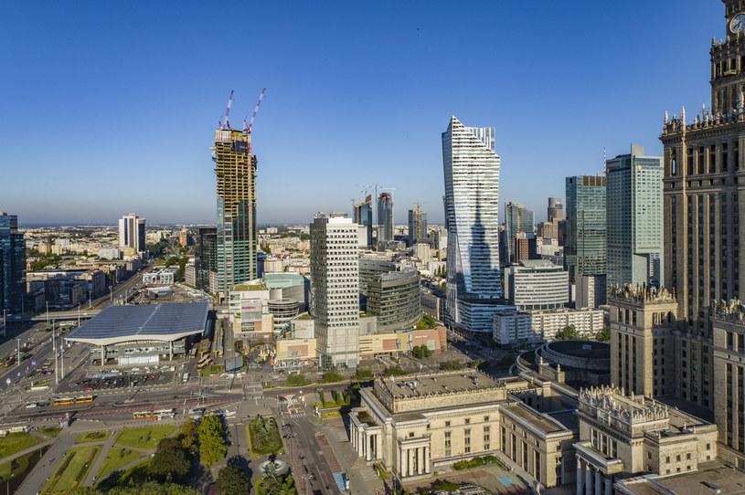 Panorama Warszawy /Robert Neumann /Agencja FORUM