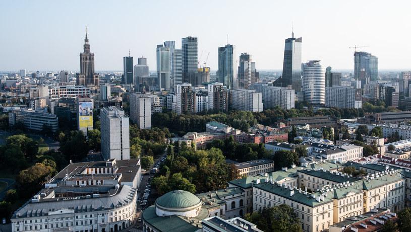 Panorama Warszawy /Filip Blazejowski /Agencja FORUM