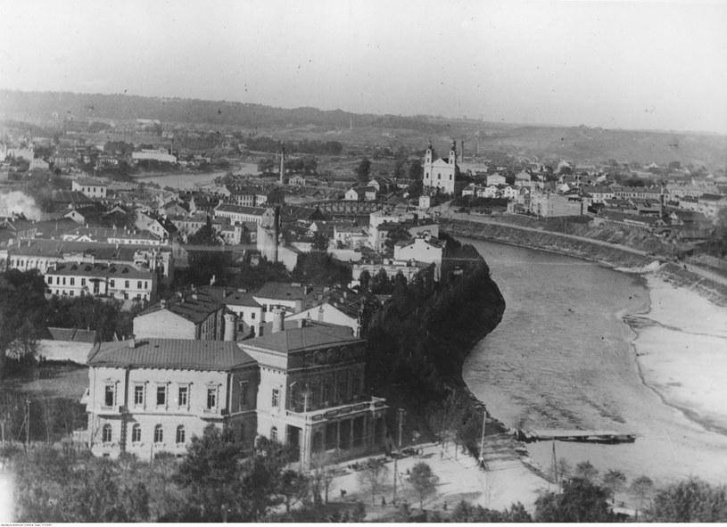 Panorama Wilna z wieży zamkowej (zdjęcie przedwojenne) /Z archiwum Narodowego Archiwum Cyfrowego
