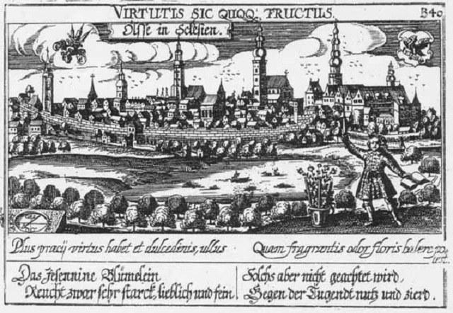Panorama XVII-wiecznej Oleśnicy /INTERIA.PL/materiały prasowe