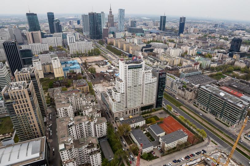 Panorana Warszawy, zdj. ilustracyjne /     SZYMON STARNAWSKI /POLSKA PRESS /East News