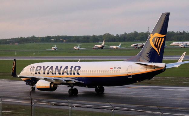 Państwa zachodnie są przekonane, że władze Białorusi wymusiły lądowanie samolotu linii Ryanair groźbami i poderwaniem myśliwca /STRINGER /PAP/EPA
