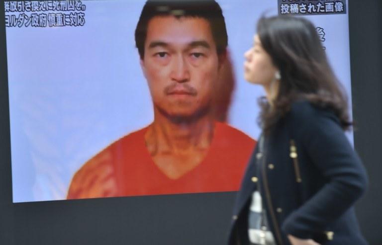 Państwo Islamskie odpowiada za śmierć dwóch japońskich zakładników. Na zdjęciu Kenji Goto /AFP