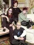 Państwo Osbourne'owie z dziećmi /
