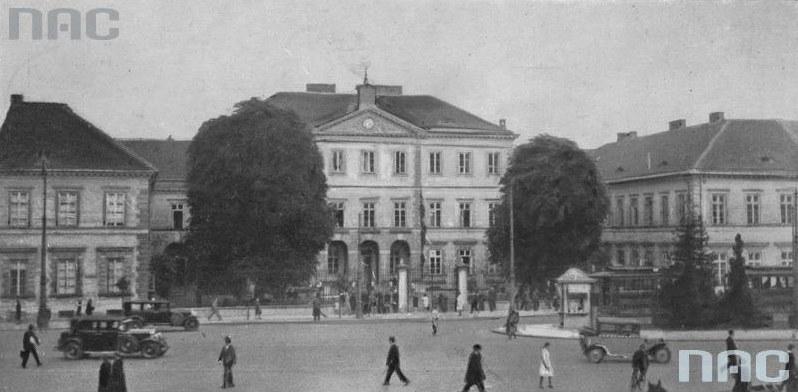 Państwowy Instytut Głuchoniemych i Ociemniałych w Warszawie /Ze zbiorów Narodowego Archiwum Cyfrowego